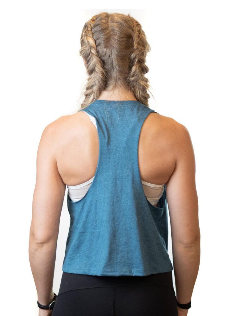 SweatNET Blue Shirt with Logo