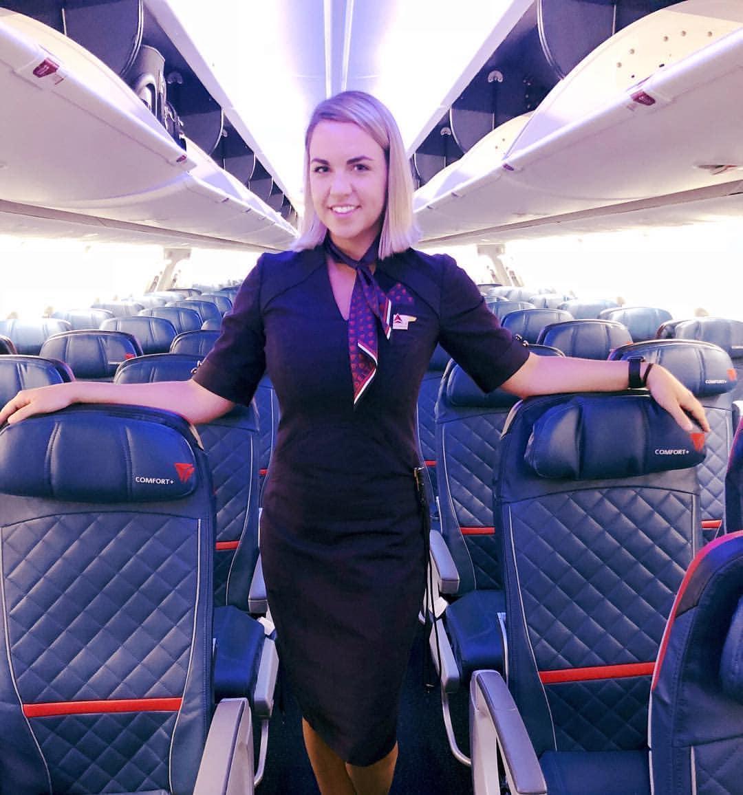 Delta Flight Attendant in Charlotte