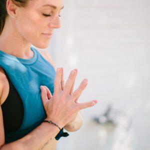 Yoga Pose in Charlotte