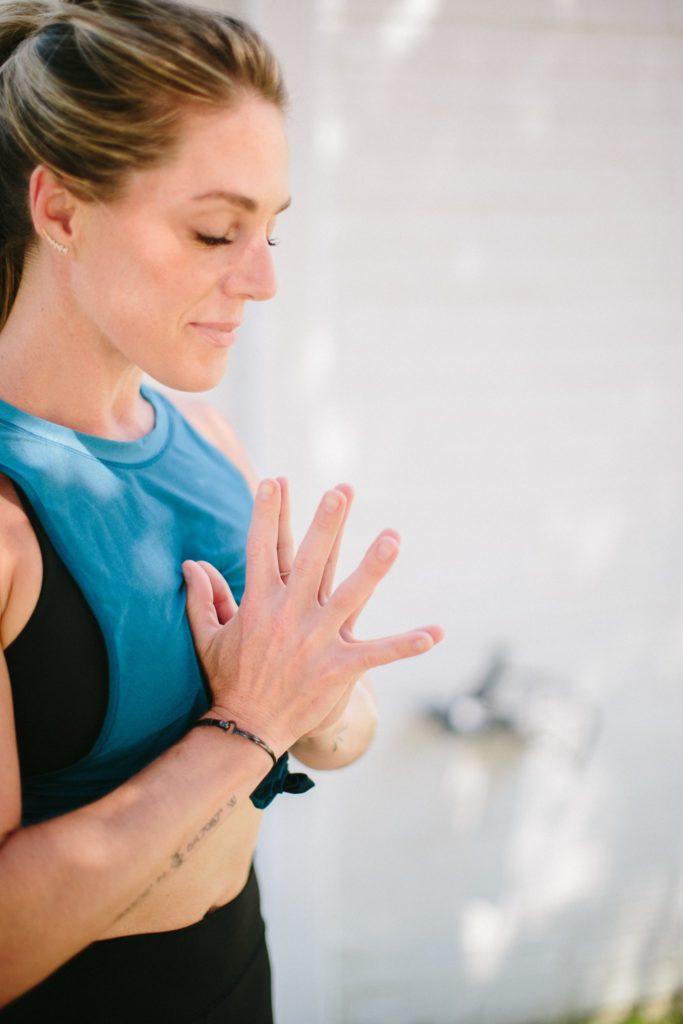 Yoga Pose in Charlotte jaimis meditation