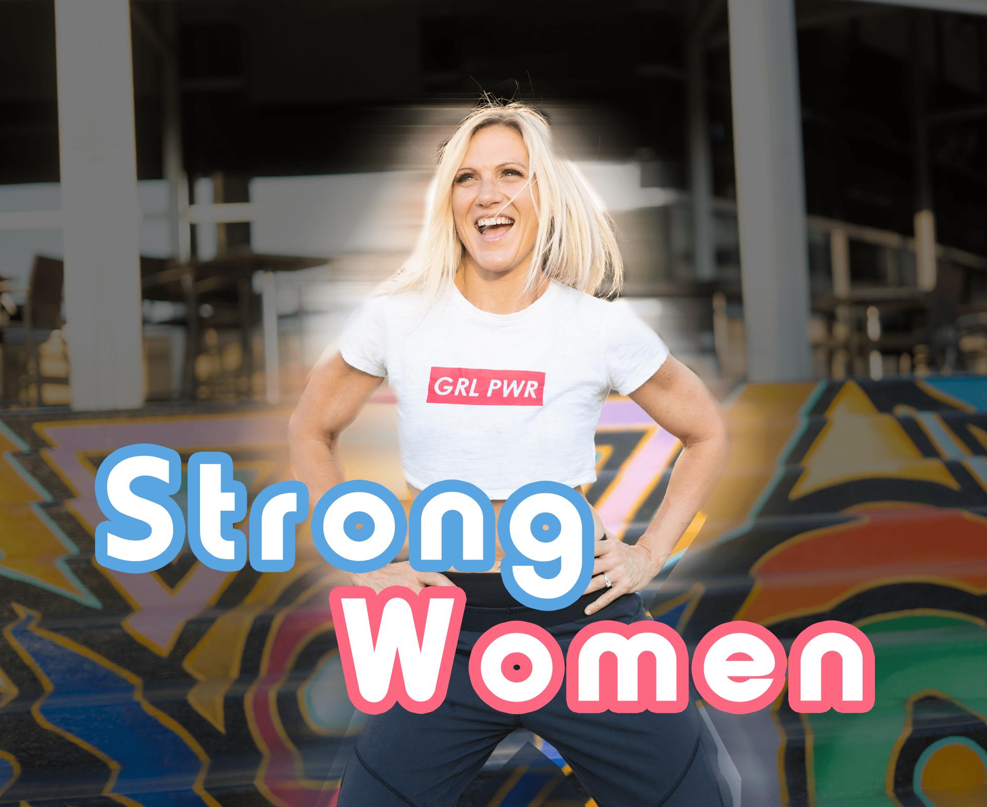sweatnet strong women podcast charlotte, nc