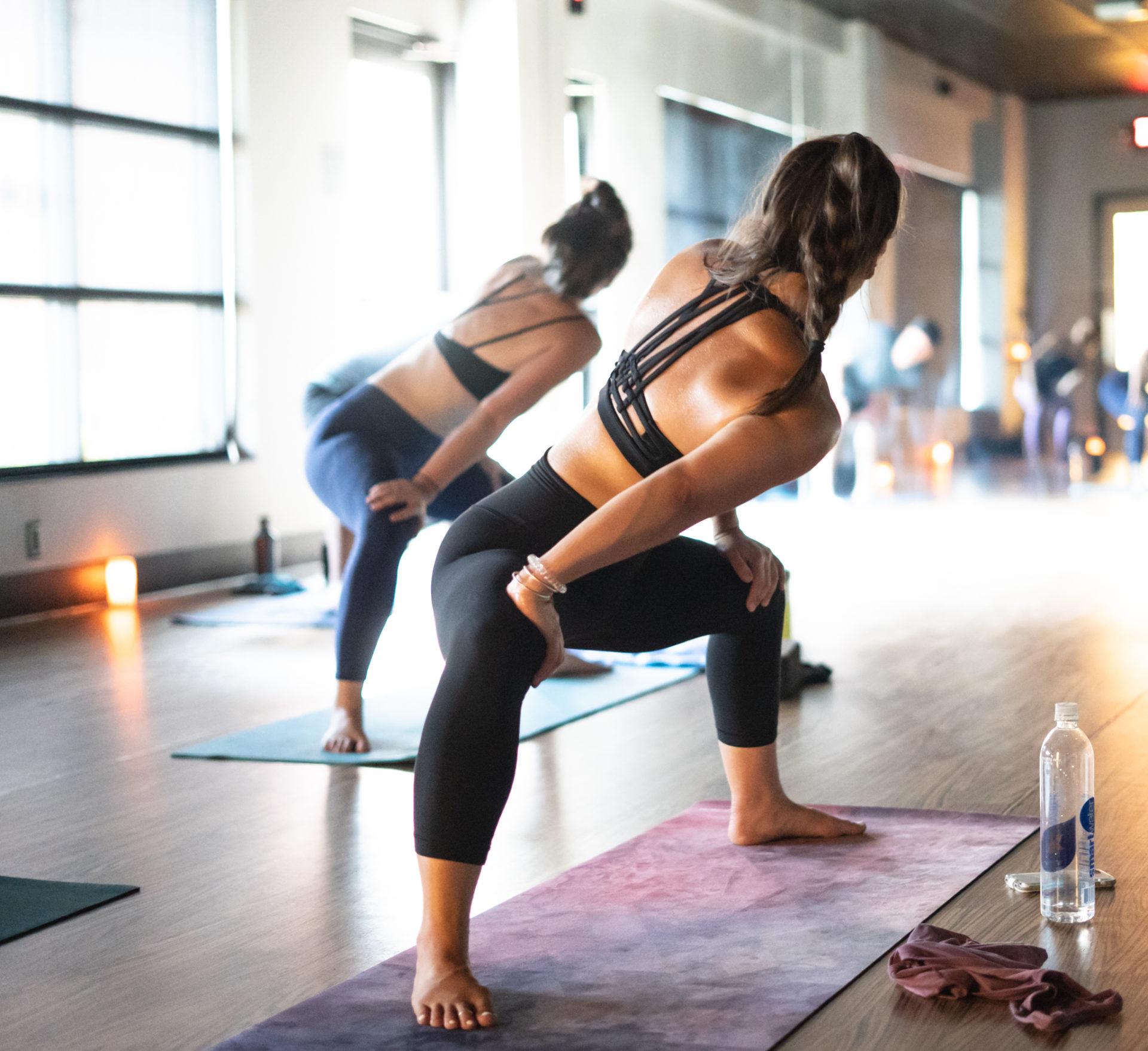 sweatnet yoga class
