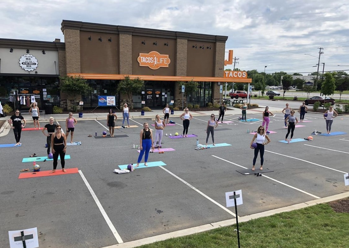 neighborhood barre concord outdoor workout