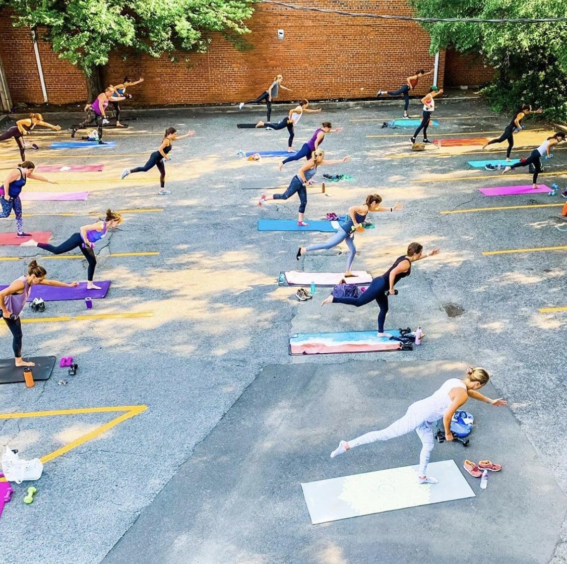 hilliard studio method outdoor class sweatnet