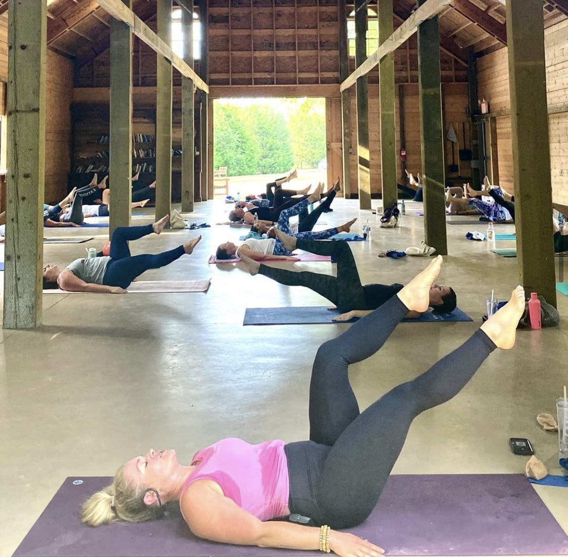 barre3 south charlotte outdoor class