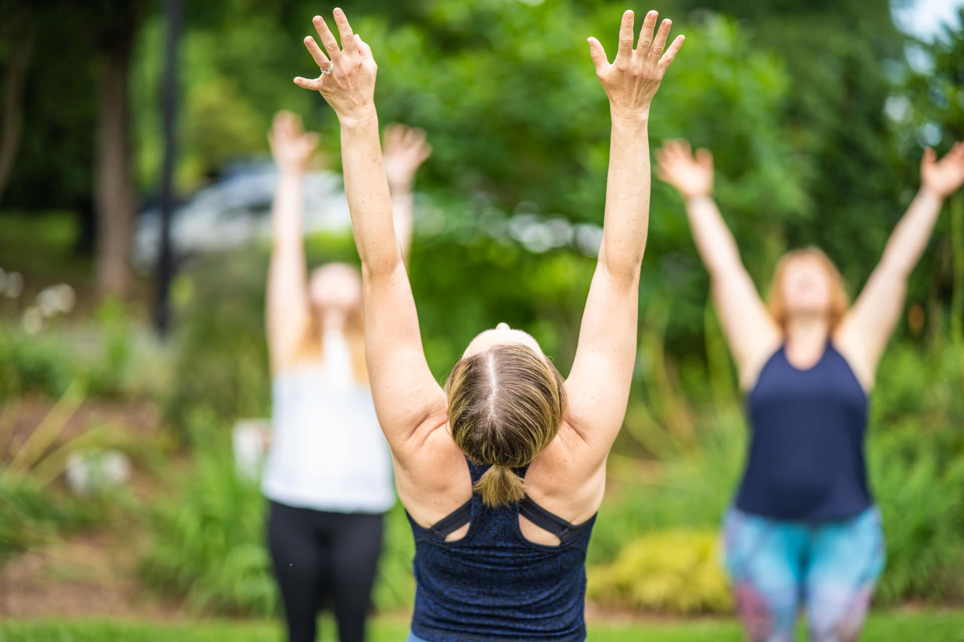 be yoga outdoor class in charlotte