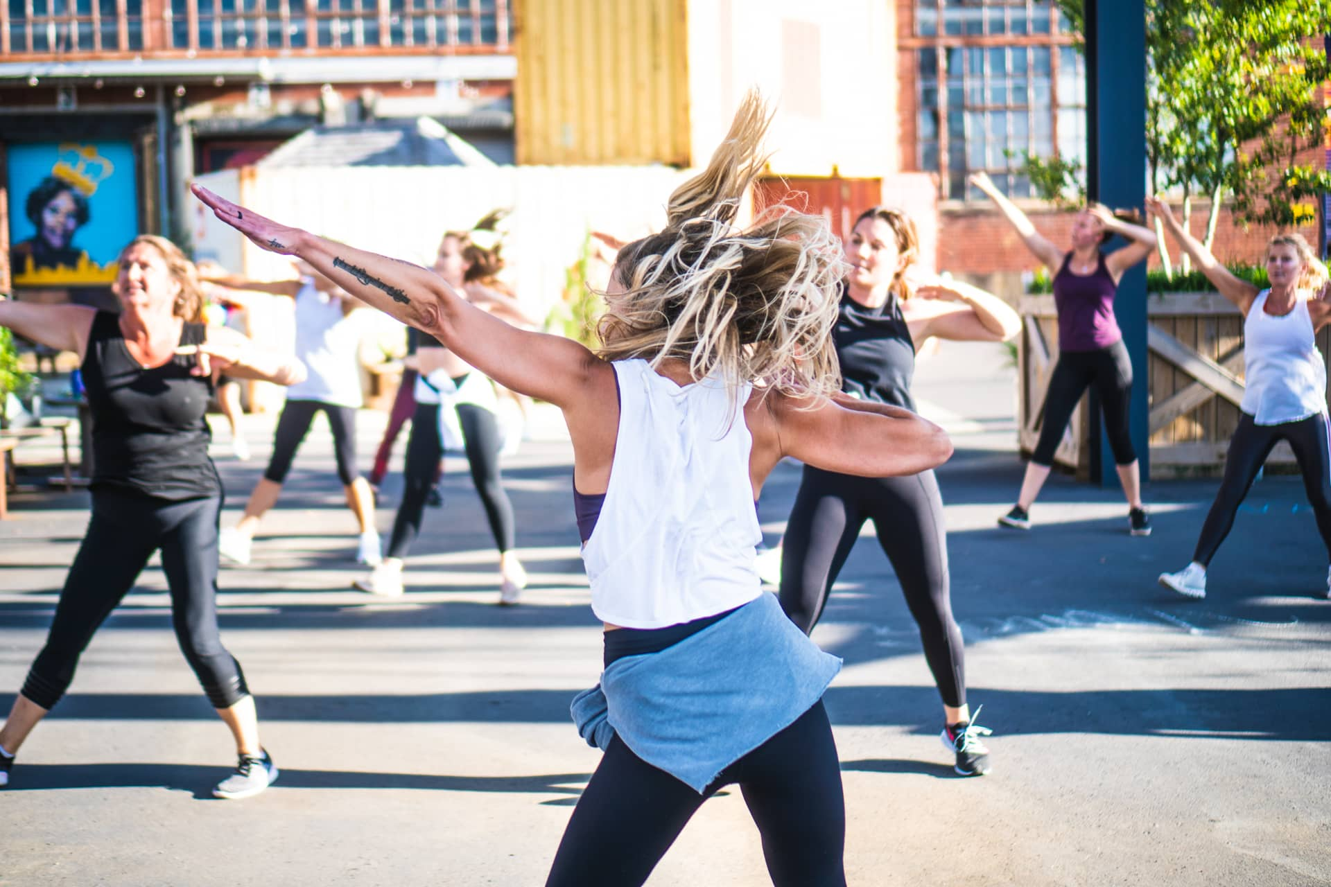 bloc camp north end outdoor class