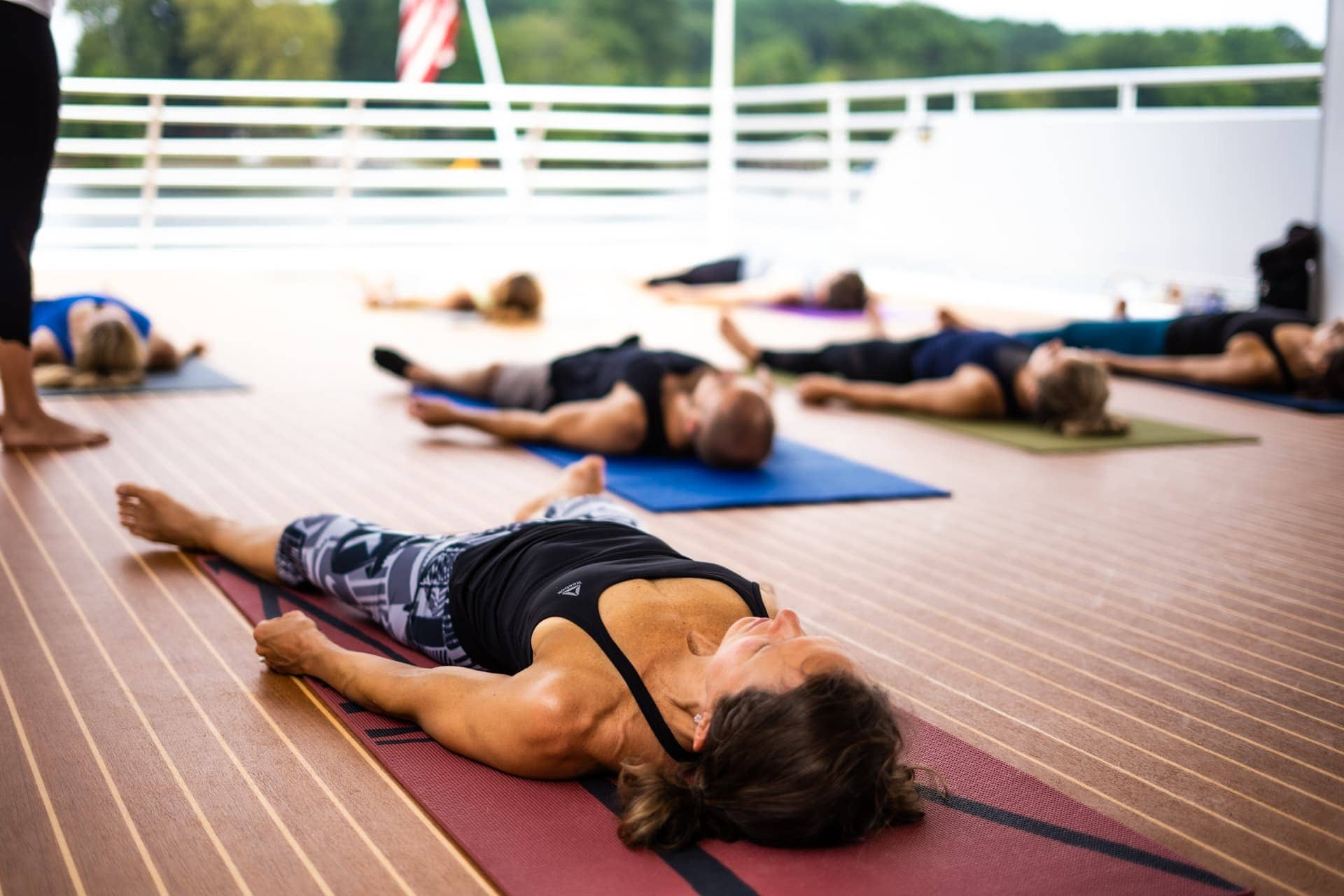 Yacht Yoga With Courtney Gendron Sweatnet