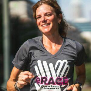 erace racism runner in charlotte
