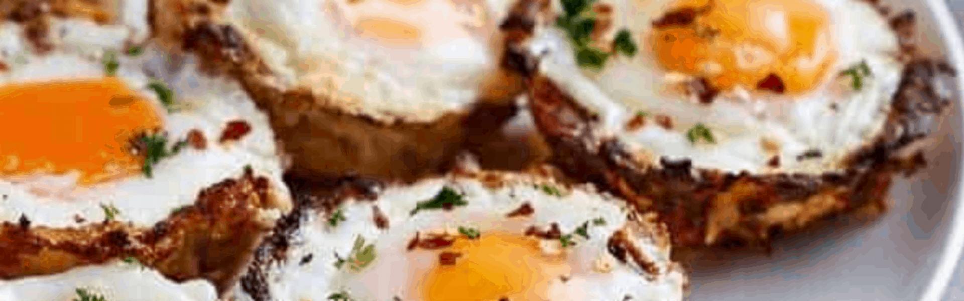 cauliflower hash brown egg