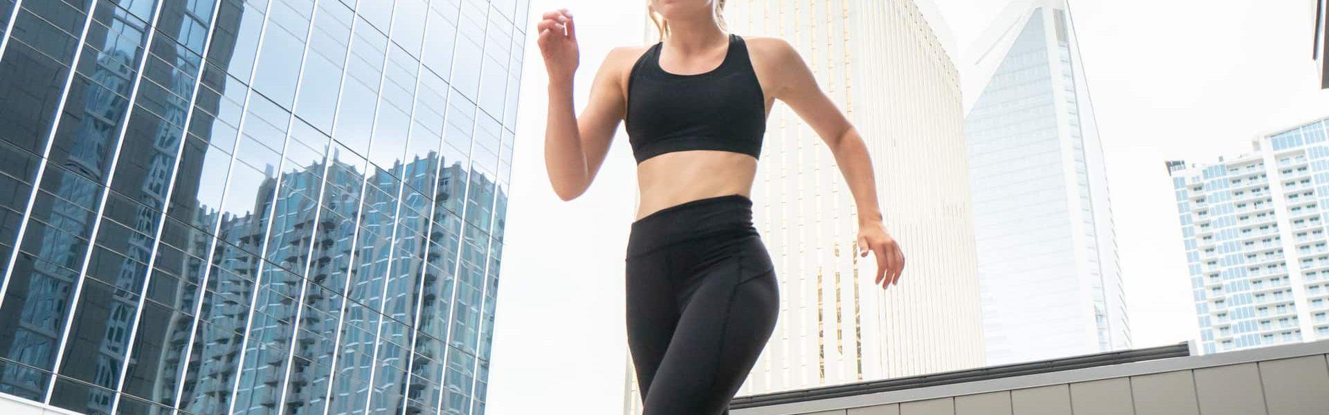 Running with Charlotte Skyline